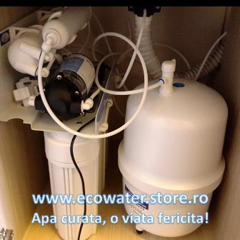 montaj filtre si vas stocare osmoza aguaplus