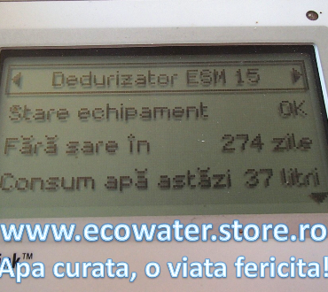 remote monitor ecowater 7