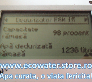 remote monitor ecowater 4
