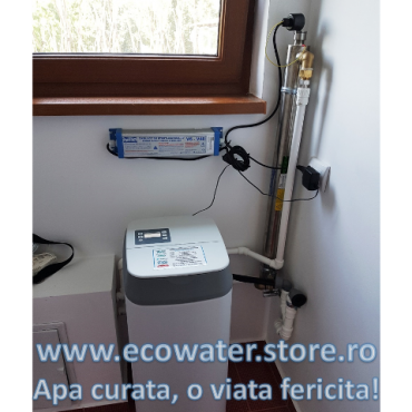dedurizator ecowater AcquaSafe 15 si sterilizator V2540